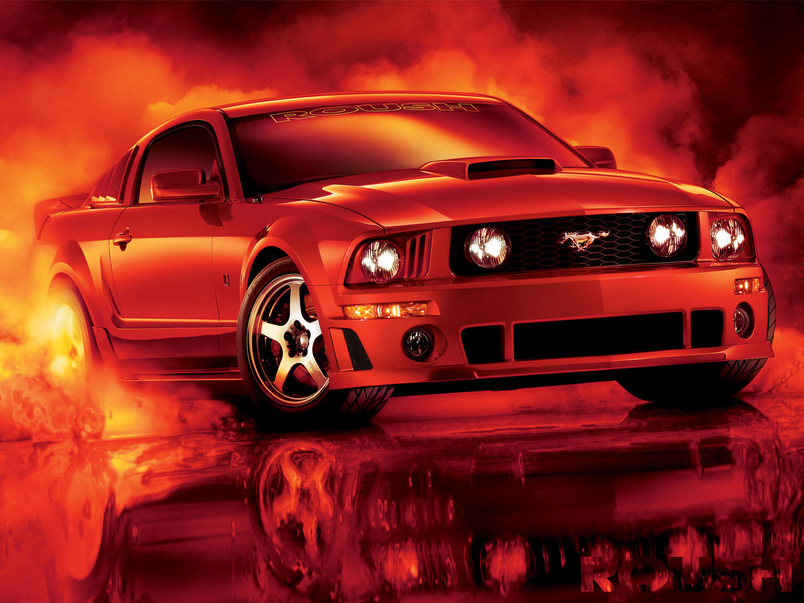 Roush Mustang GT photo 43323