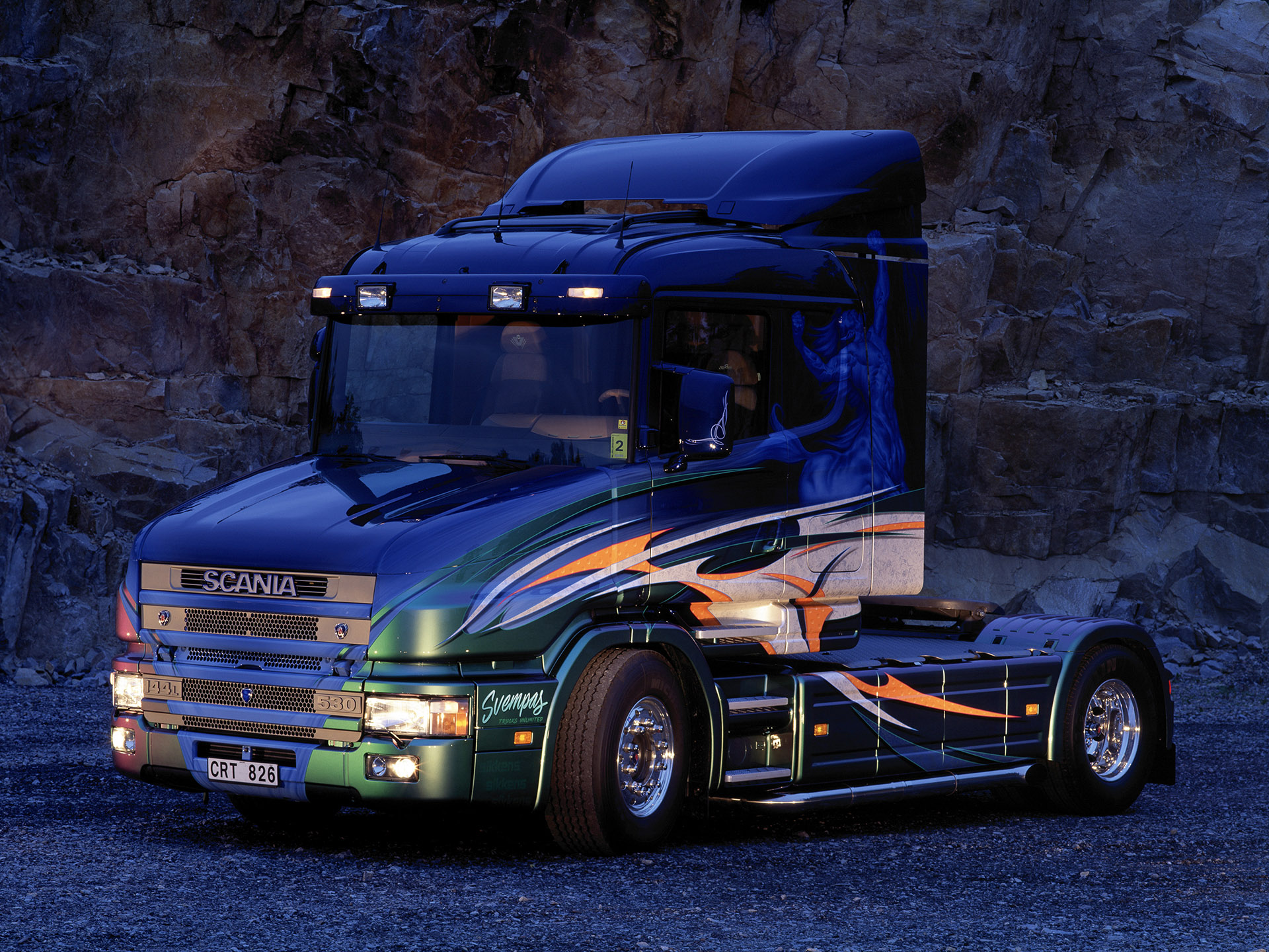 Scania T-series photo 46647