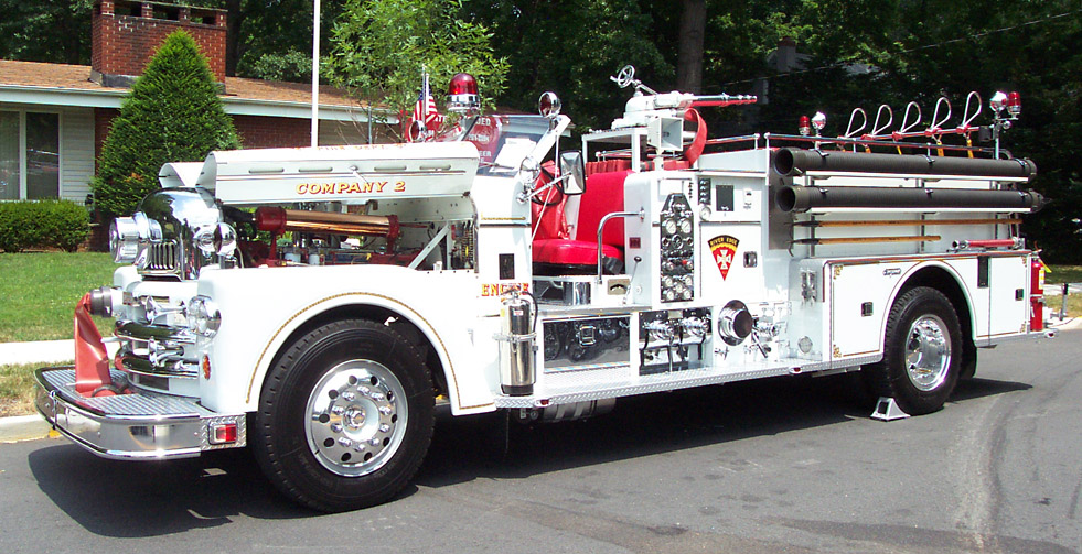 Seagrave Fire Truck photo 6047