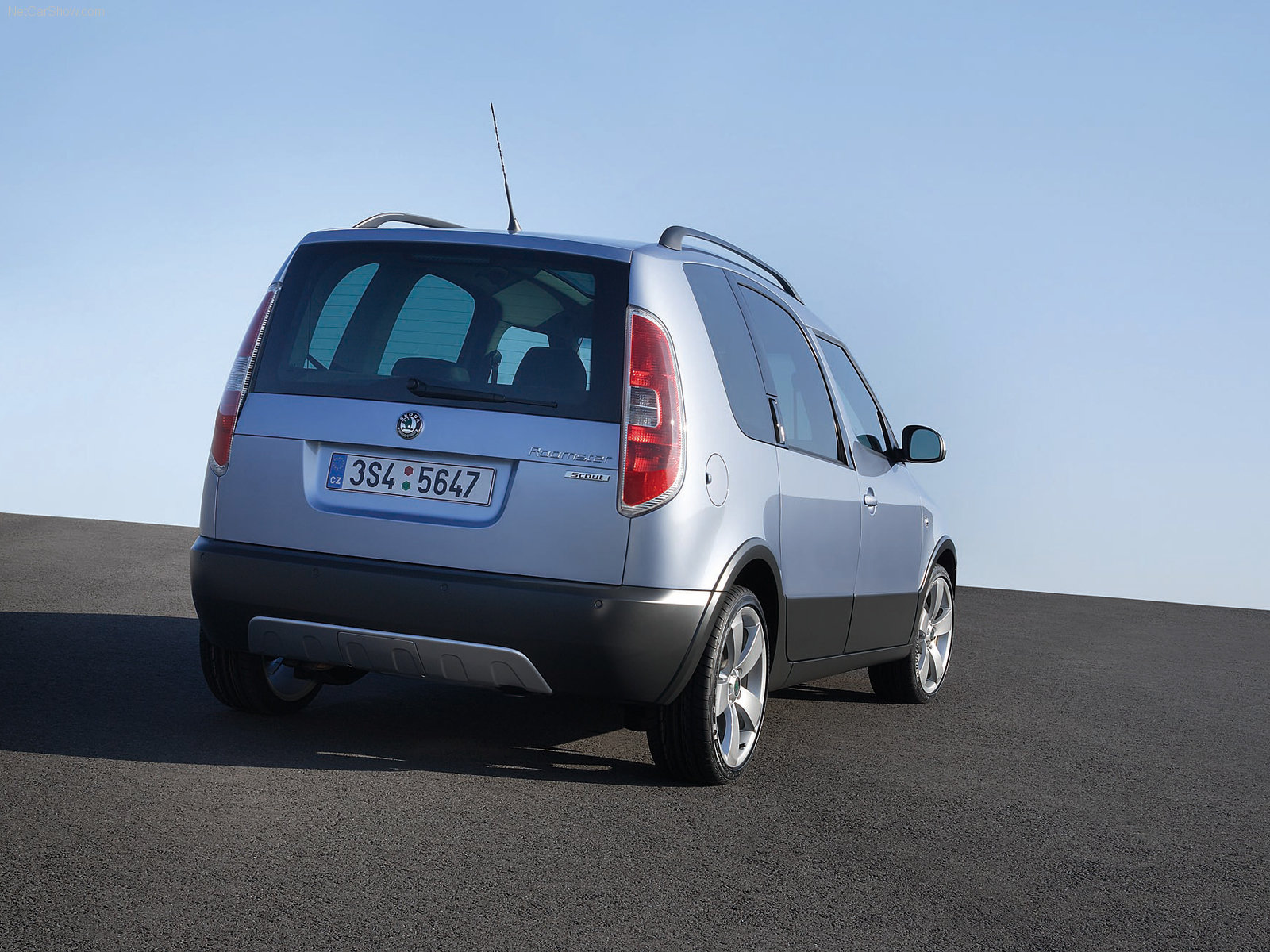 Skoda Roomster Scout photo 39734