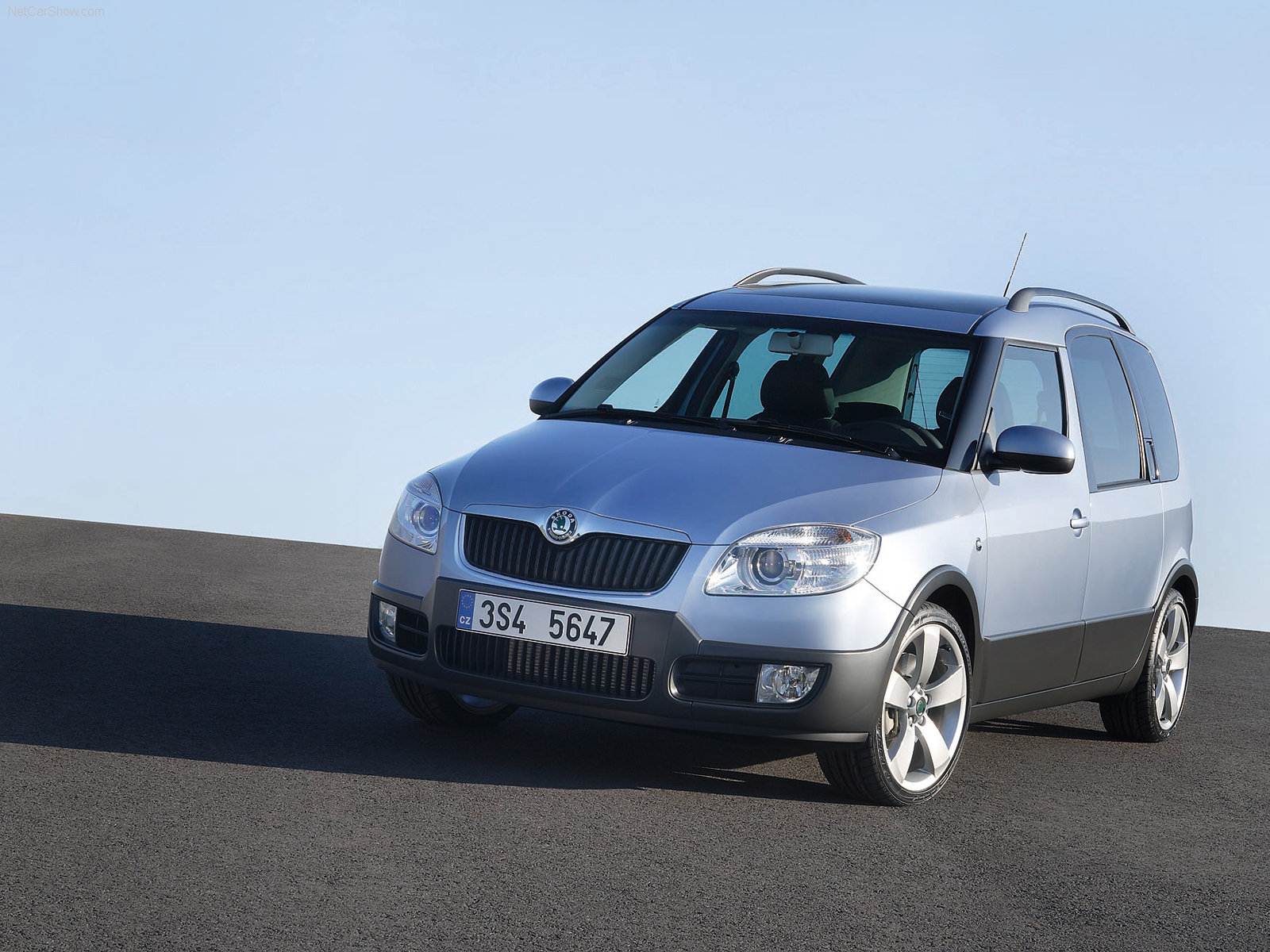 Skoda Roomster Scout photo 39735