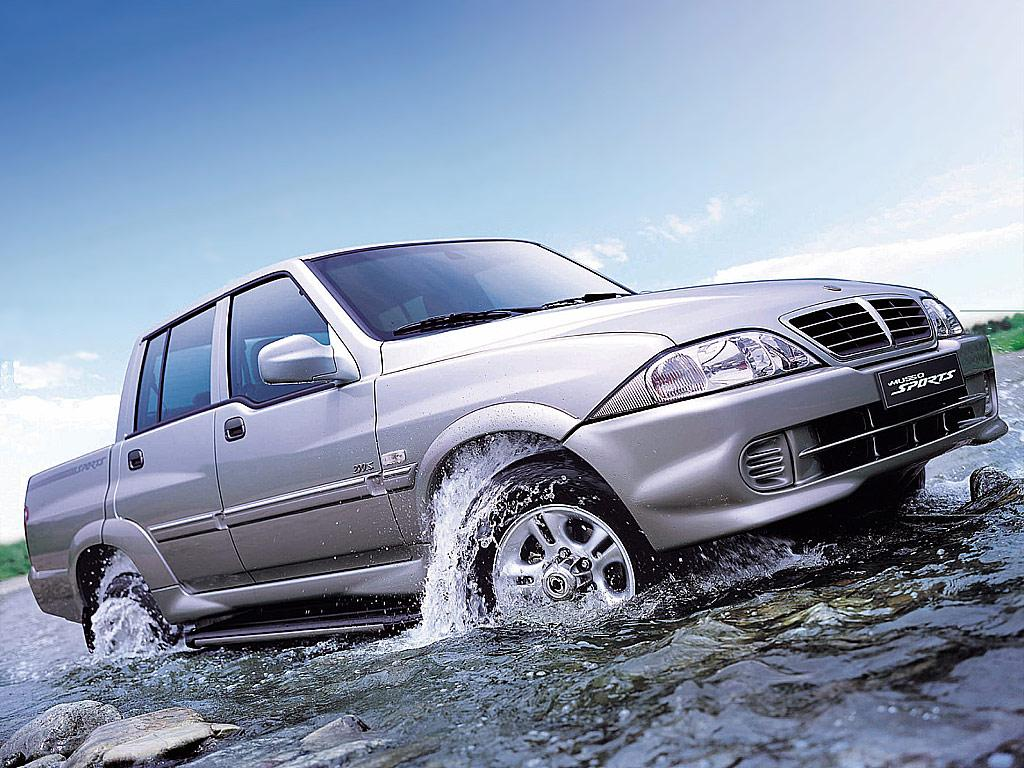 SsangYong Musso Sports photo 31692