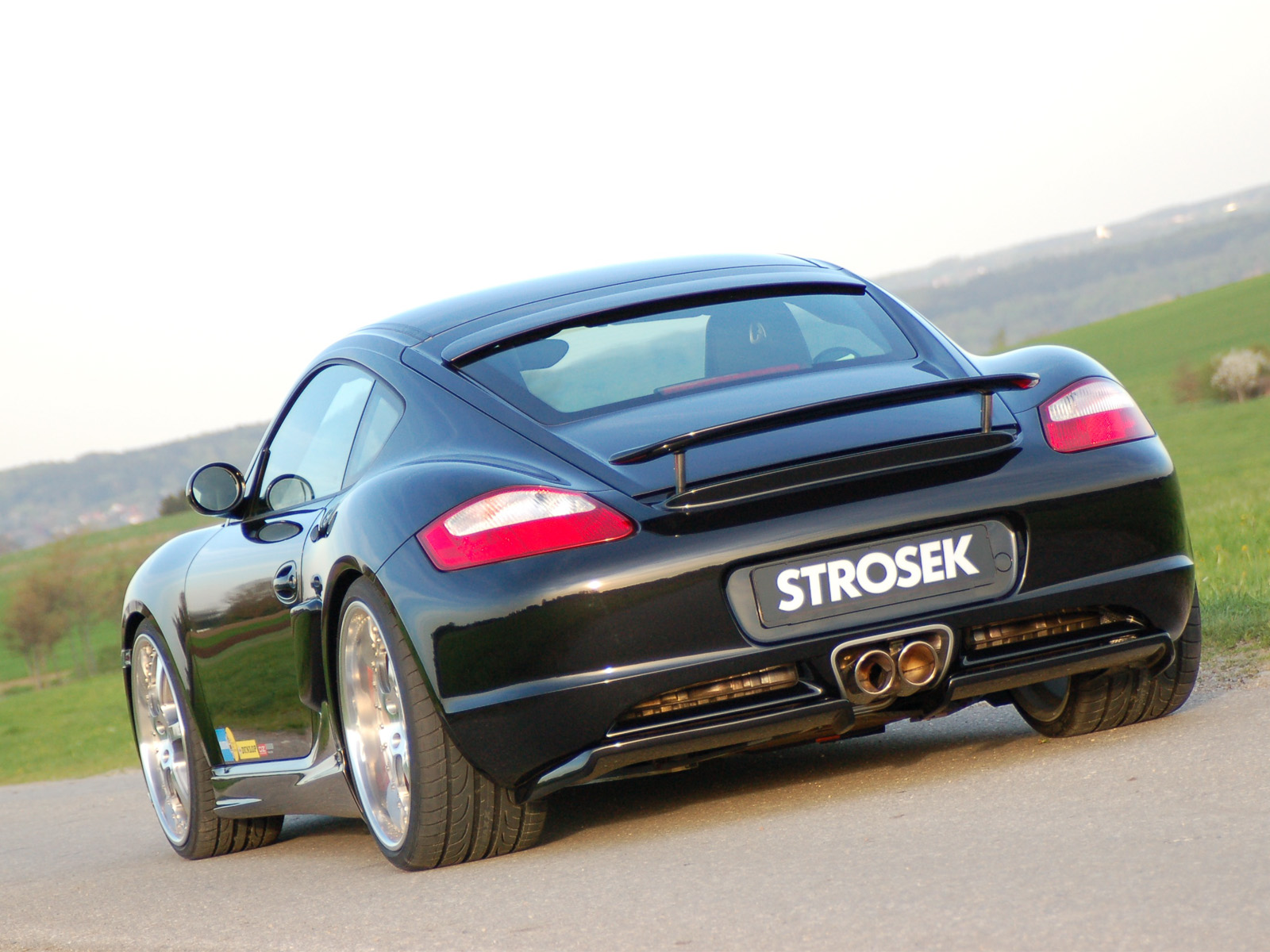 Strosek Porsche Cayman S photo 35318