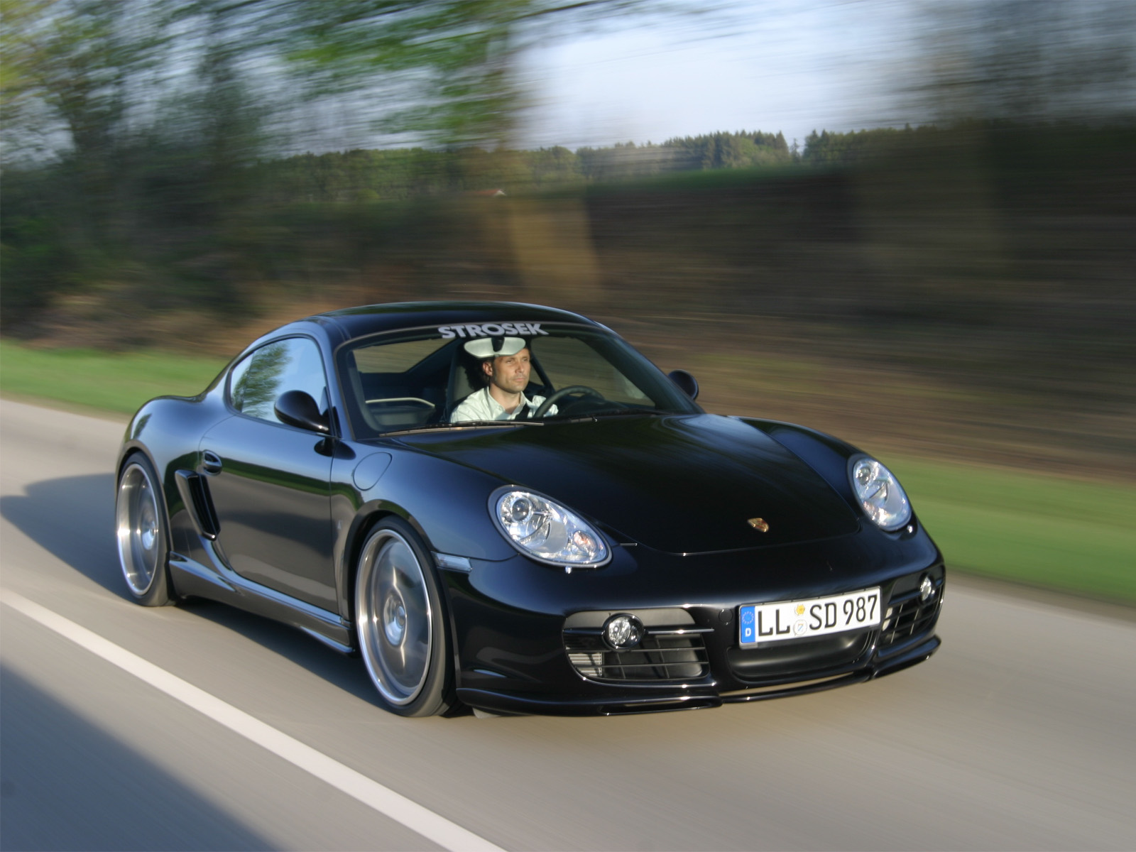 Strosek Porsche Cayman S photo 35320