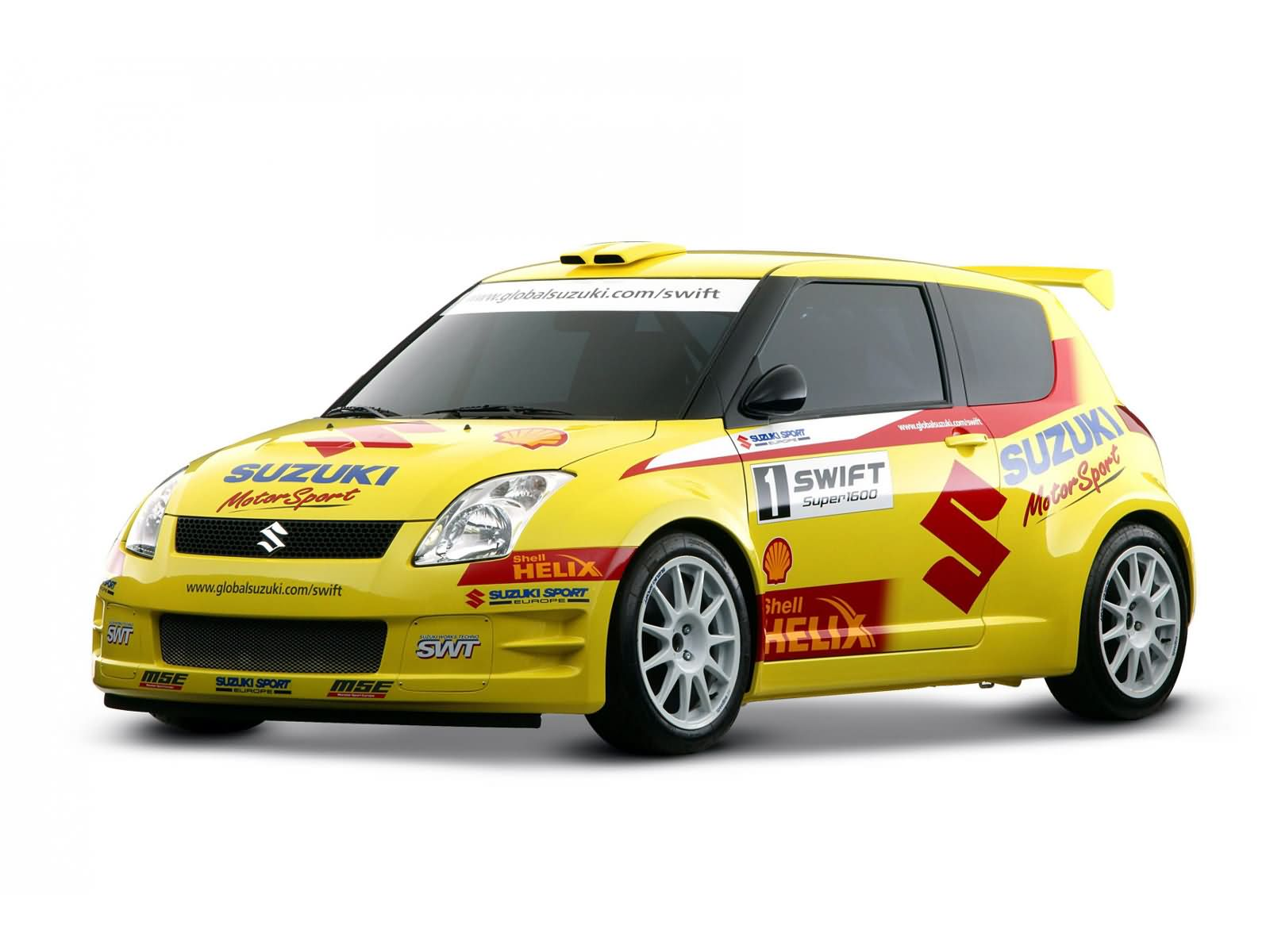Suzuki Swift Rally Car photo 16748
