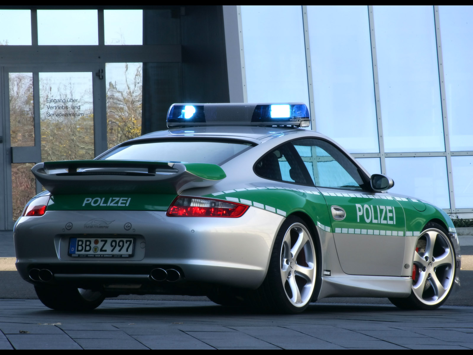 Techart 911 Carrera Police Car photo 30020