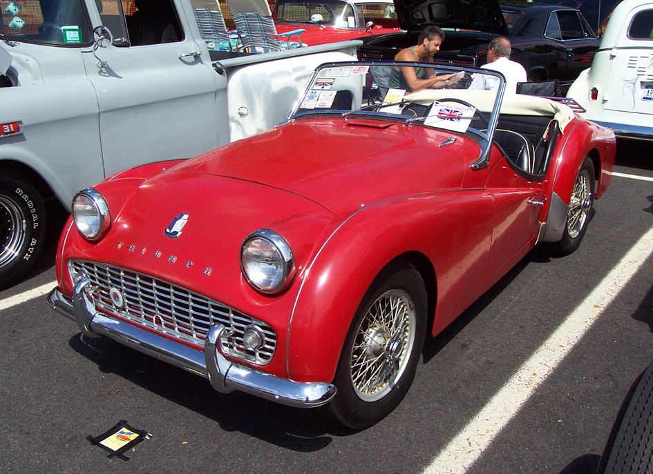 Triumph TR3A photo 5629