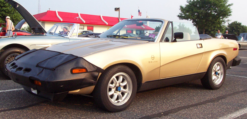 Triumph TR8 Convertible photo 5626