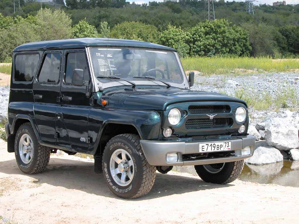 UAZ 315195 Hunter photo 14217