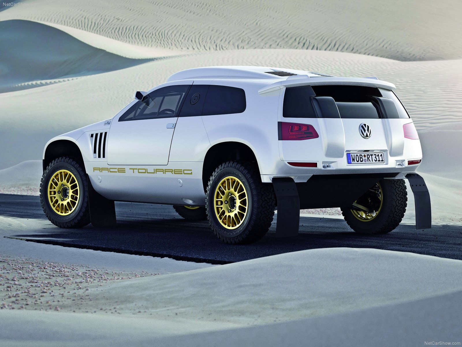 Volkswagen Race-Touareg 3 Qatar Concept photo 77899