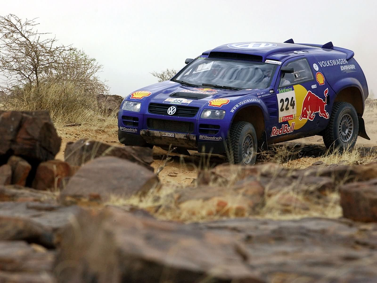 Volkswagen Race-Touareg photo 17051