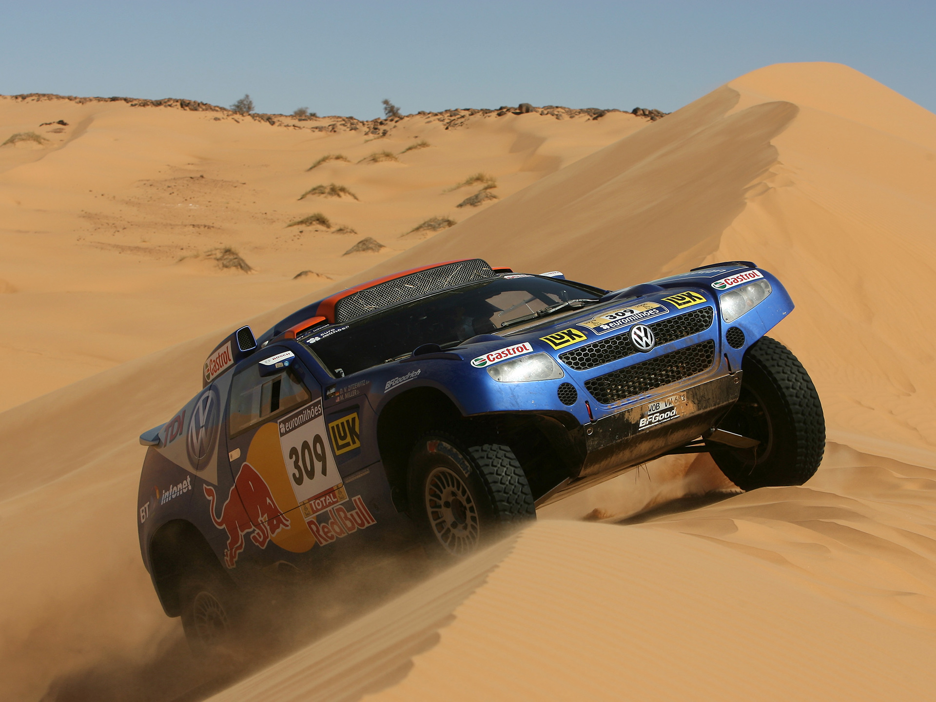 Volkswagen Race-Touareg photo 50587