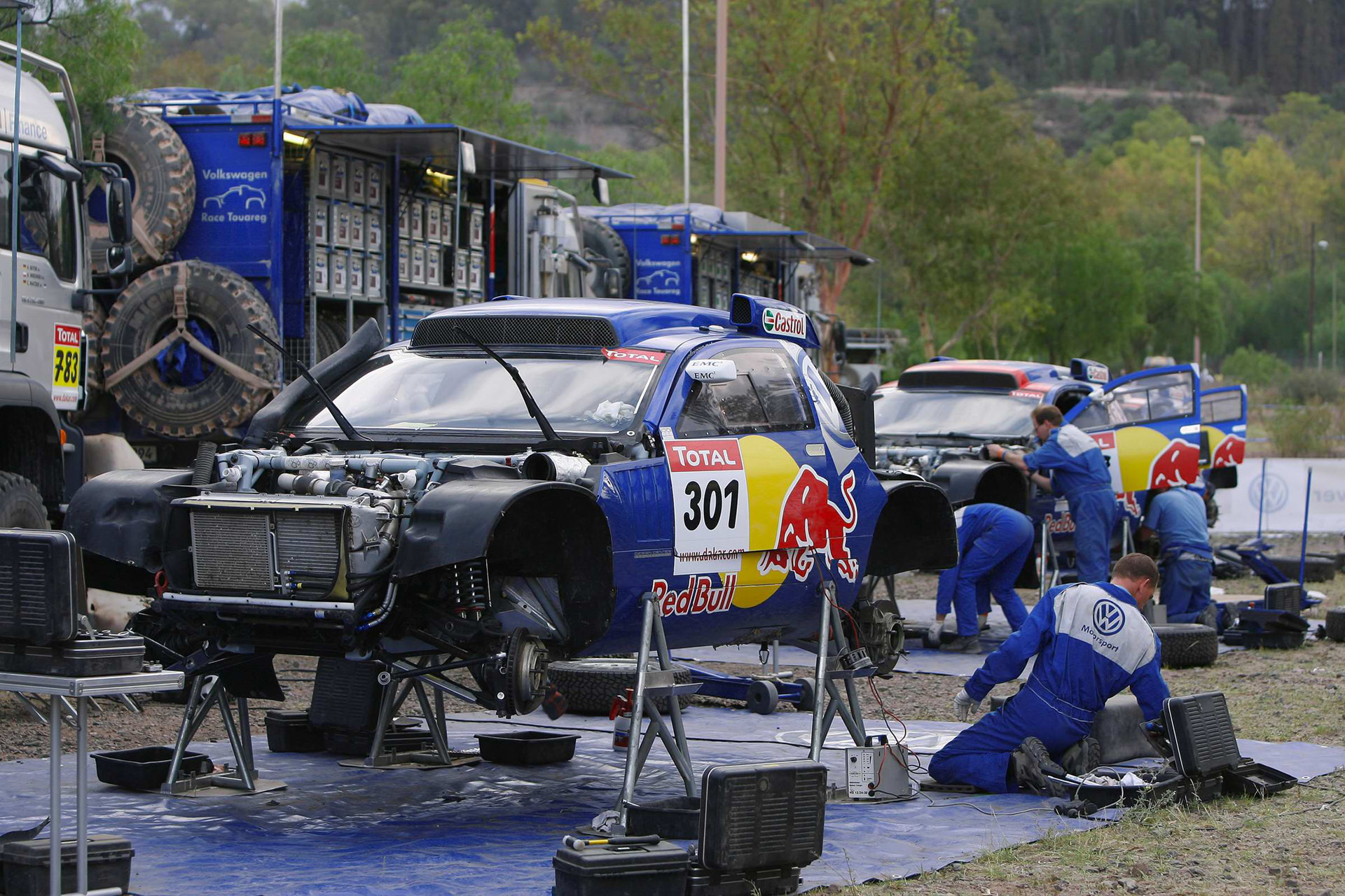 Volkswagen Race-Touareg photo 60836