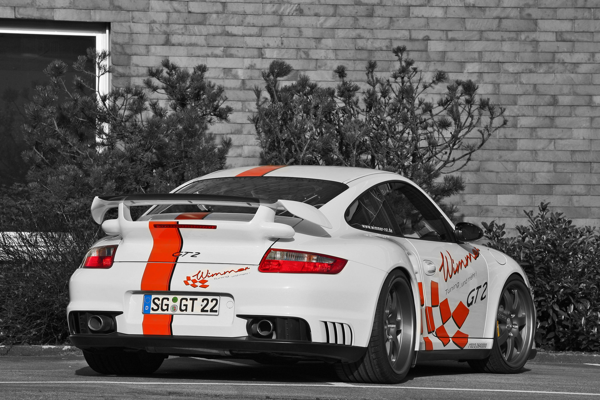 Wimmer RS Porsche 911 GT2 Speed Biturbo photo 71006