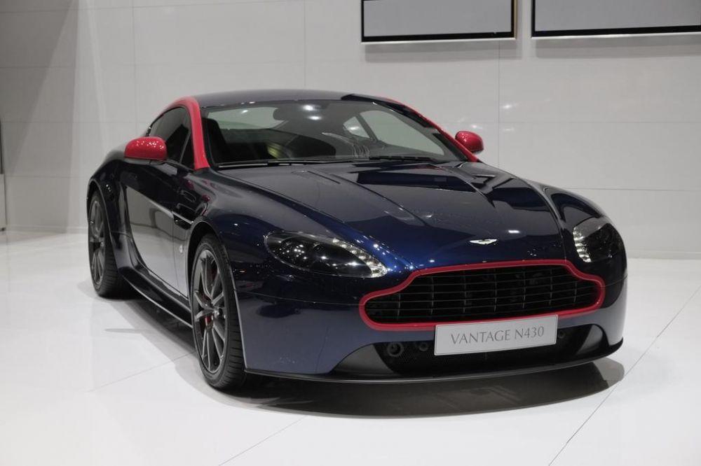 Wraps Off Refurbished V8 Vantage N430 From Aston Martin Car News Carsbase Com